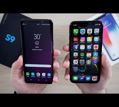 Video Comparison: Samsung Galaxy S9 vs. iPhone X