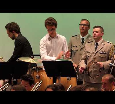 La Nouba au Concert de Printemps de l'Orchestre d'Harmonie d'Epinal