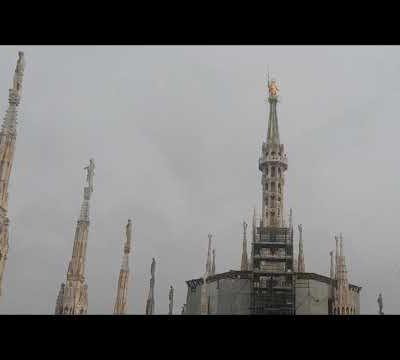 Le terrazze del Duomo di Milano