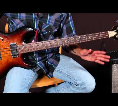 Bass Guitar Lessons - Bass Lines - Ray Charles Inspired - Blues - Soul