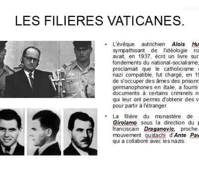 LA CAVALE DES CRIMINELS NAZIS !