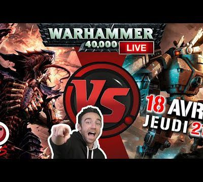 French Wargame Studio : Warhammer 40.000 - Live - Tyranids VS T'au Empire