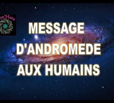 Message d'Andromède aux humains