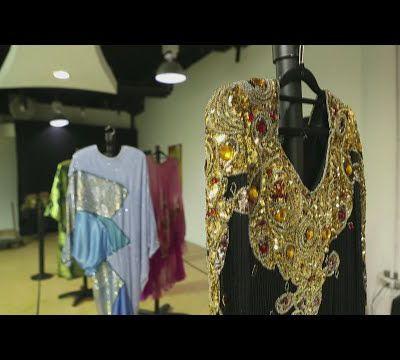 Icónicos vestidos de Celia Cruz deslumbran en República Dominicana