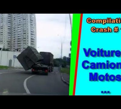 Compilation de crash HD || Car crash compilation || Top speed motor - #1