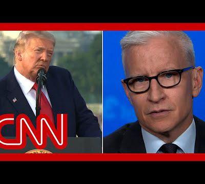 USA. TRUMP versus Anderson Cooper de CNN. Un contraste intéressant et amusant. (en anglais)