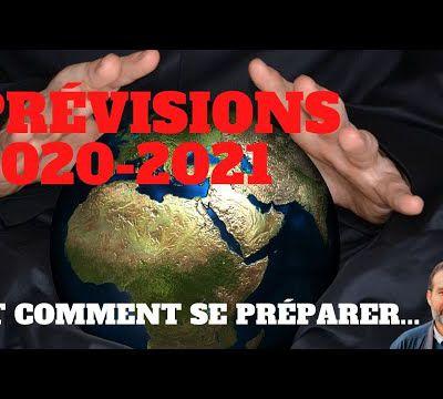 Prévisions économiques 2020 et 2021. Premières estimations. Crise durable, chômage, krach, monnaie,