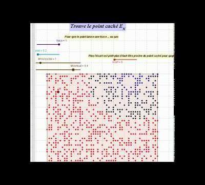 Jeu - géométrie - trouver le point - sensibilisation/information