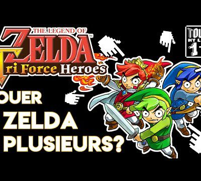 [Touch my level One] #20 Zelda Triforce Heroes - Ashikara
