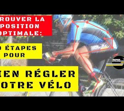 Bien régler sa position sur le vélo