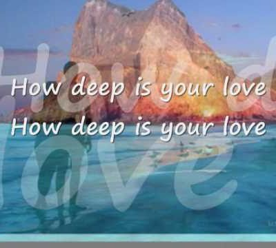 HOW DEEP IS YOU LOVE, C'EST MATHÉMATIQUES(fermaton.overblog.com)