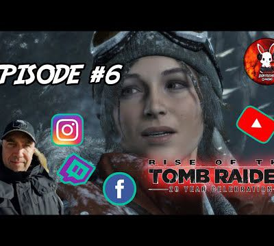DIRTDIVER LIVE 🔴 Rise of Tomb Raider rediff twitch épisode #6 FR/PC 1080p 60fps