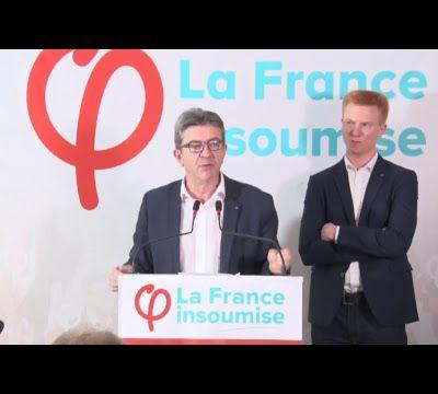 Conférence de presse de Jean-Luc Mélenchon