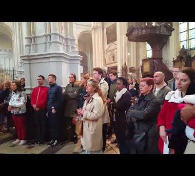 22 octobre 2017 - Fête de Saint Jean Paul II à l'église Sainte Catherine
