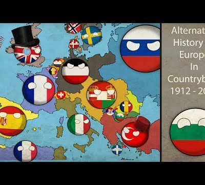 Alternative History Of Europe In Countryballs 1912-2017