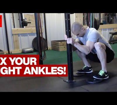 Mobilisez vos chevilles pour améliorer votre squat !