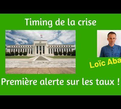 Timing de la crise (2019 ?) : Première alerte sur un indicateur majeur !