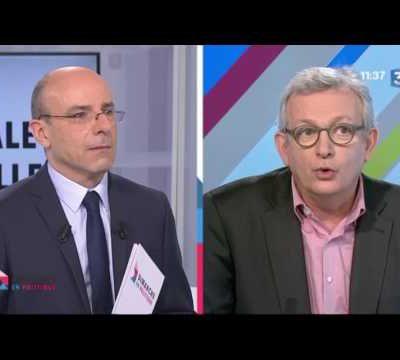 Eric et Alain Bocquet, accompagné de Pierre Laurent à Dimanche Politique