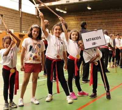Première Démo des Kids lors du 2ème Tournoi du Modern Tahtib en France !