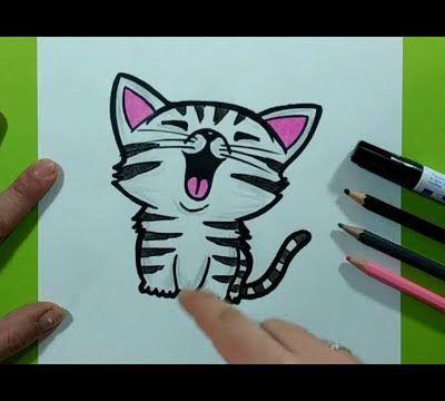 Como dibujar un gato paso a paso 37