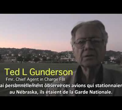 """Hommage à Ted Gunderson : """" Stop chemtrails !"""""""