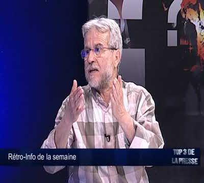 Participation à la Rétro Info de la semaine à Al Magharibia TV le 8 juillet 2017
