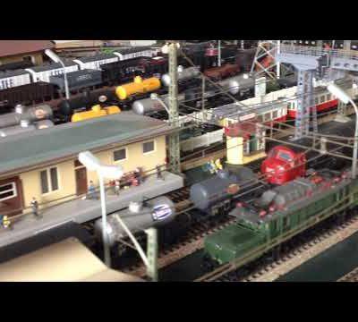 Vidéo : survol de la grande gare