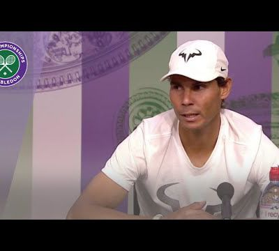 Questions please for Rafael Nadal
