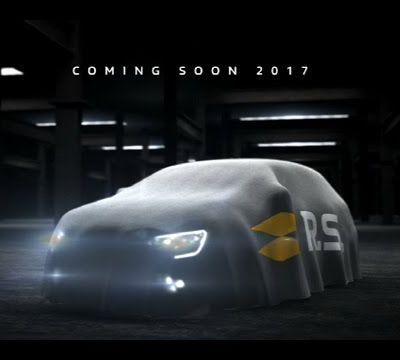 [Vidéo] Renault Mégane RS 2017: premières images et son du moteur