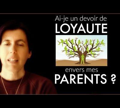Devoir de loyauté envers mes parents - Isabelle Padovani