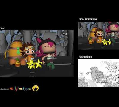 Demoreel Layout 3D Pirata et Capitano
