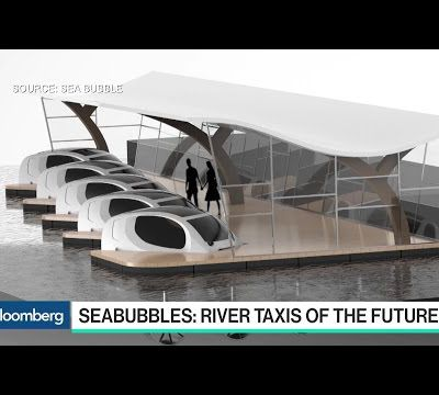 French startup will put 'flying' electric water taxis to work in Paris