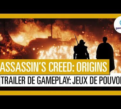 [News] Assassin's Creed Origins s'offre un nouveau trailer de gameplay
