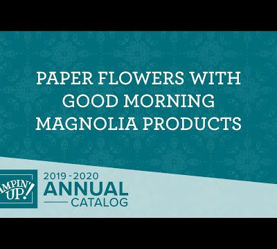 LOT MAGNOLIA DU MATIN,STAMPIN'UP!.