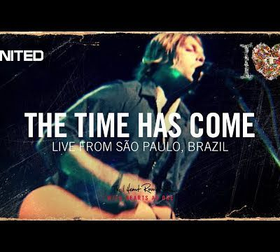 The time has come, live from Brazil