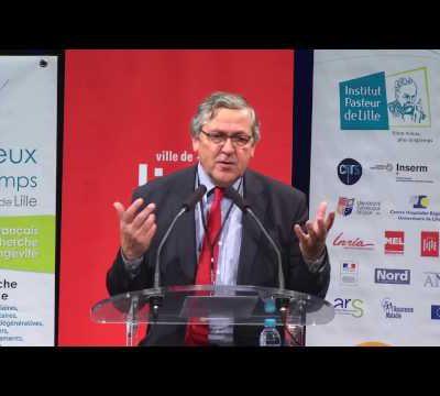 CR Conférence de l'Institut Pasteur du 07/12/2016 sur la Longévité