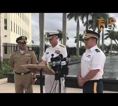 Craig Faller, jefe del comando sur dirige un mensaje a los militares venezolanos