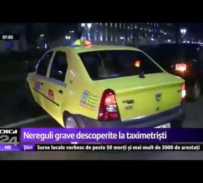 Controlul oficial față de fenomenul pirateriei nu vede un șofer ride-sharing la doi pași de ei VIDEO