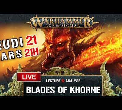 French Wargames Studio: AoS - Live - Lecture & Analyse du battletome Blade Of Khorne