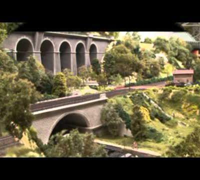 Train miniature HO Chalindrais ligne 2 (2ème réseau d'André Gay) vidéo 72