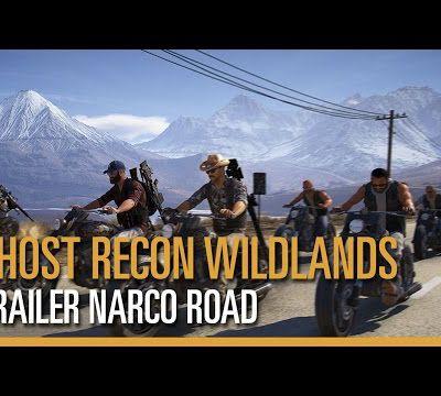 ACTUALITE : Le #DLC #narcoRoad pour #GhostReconWildlands dispo pour les possesseurs de #SeasonPass, le #trailer!