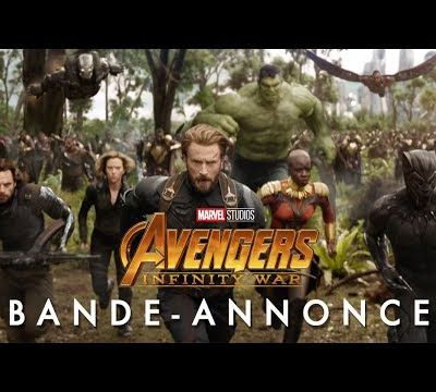 AVENGERS Infinity War, première bande annonce.