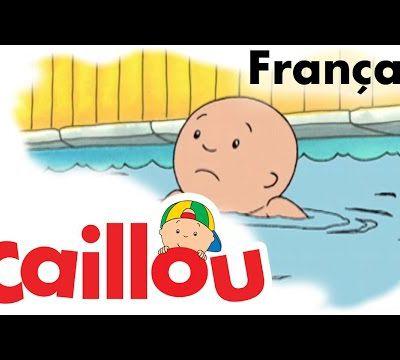 Jeudi 17 novembre / Caillou apprend à nager