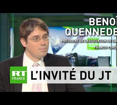 L'AAFC sur RT France après l'annonce du gel de ses essais nucléaires et balistiques par la Corée du Nord