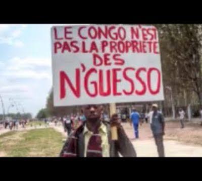 Brazzaville Ezoyinda Le 10 Mars 2018 Peuple contre Sassou Nguesso