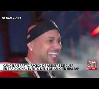 EEUU: Hialeah cancela concierto por el 4 de Julio de los cantantes cubanos Jacob Forever y El Micha