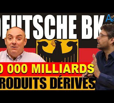Deutsche Bank ruinée ? Olivier Delamarche