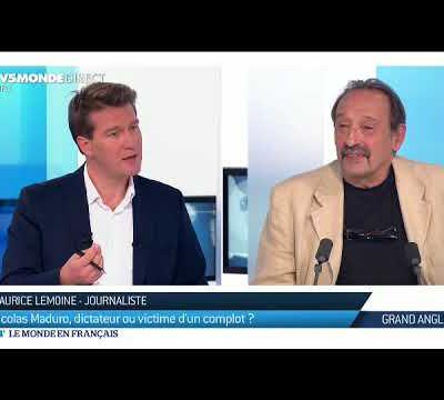 TV5 MONDE 17 AOUT 2017 : NICOLAS MADURO, DICTATEUR OU VICTIME D'UN COMPLOT ?