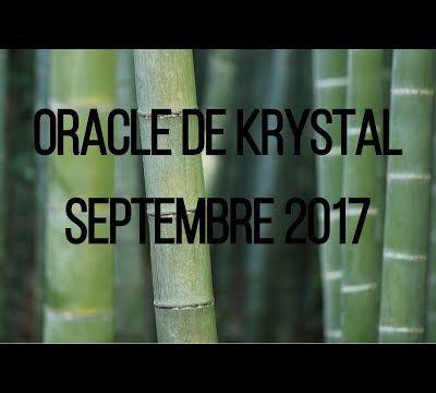 Guidance Oracle de Krystal septembre 2017