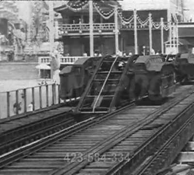 1905 - Le train grimpeur de Coney Island